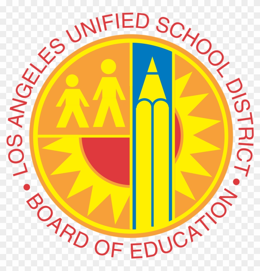 Teaching Vector High School - Los Angeles Unified School District Logo Clipart #3495818