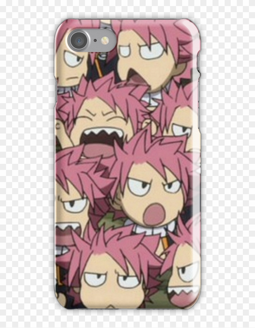 Fairytail Natsu Chibi Iphone 7 Snap Case - Fairy Tail Natsu Army Clipart #3496857