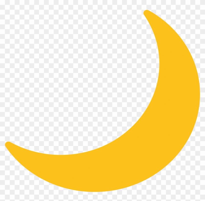Icons Logos Emojis - Twitter Moon Emoji, HD Png Download