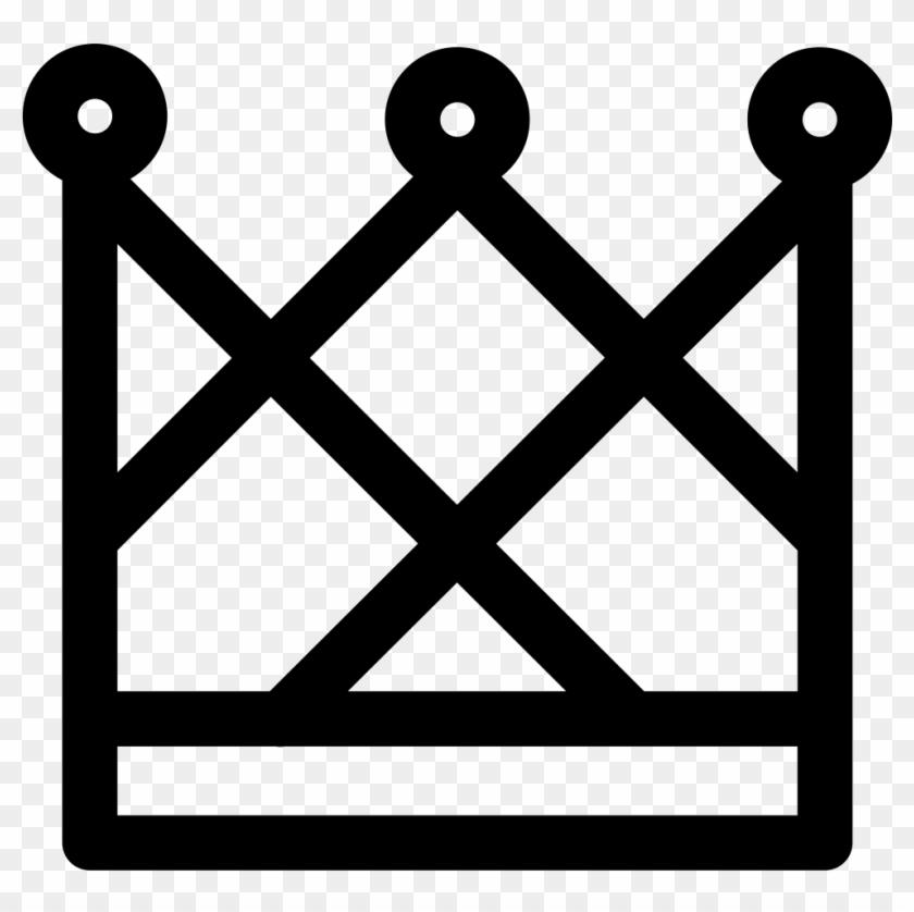 Royal Male Elegant Crown Svg Png Icon Free Download - Simbolo De Las Valkirias Clipart #350676