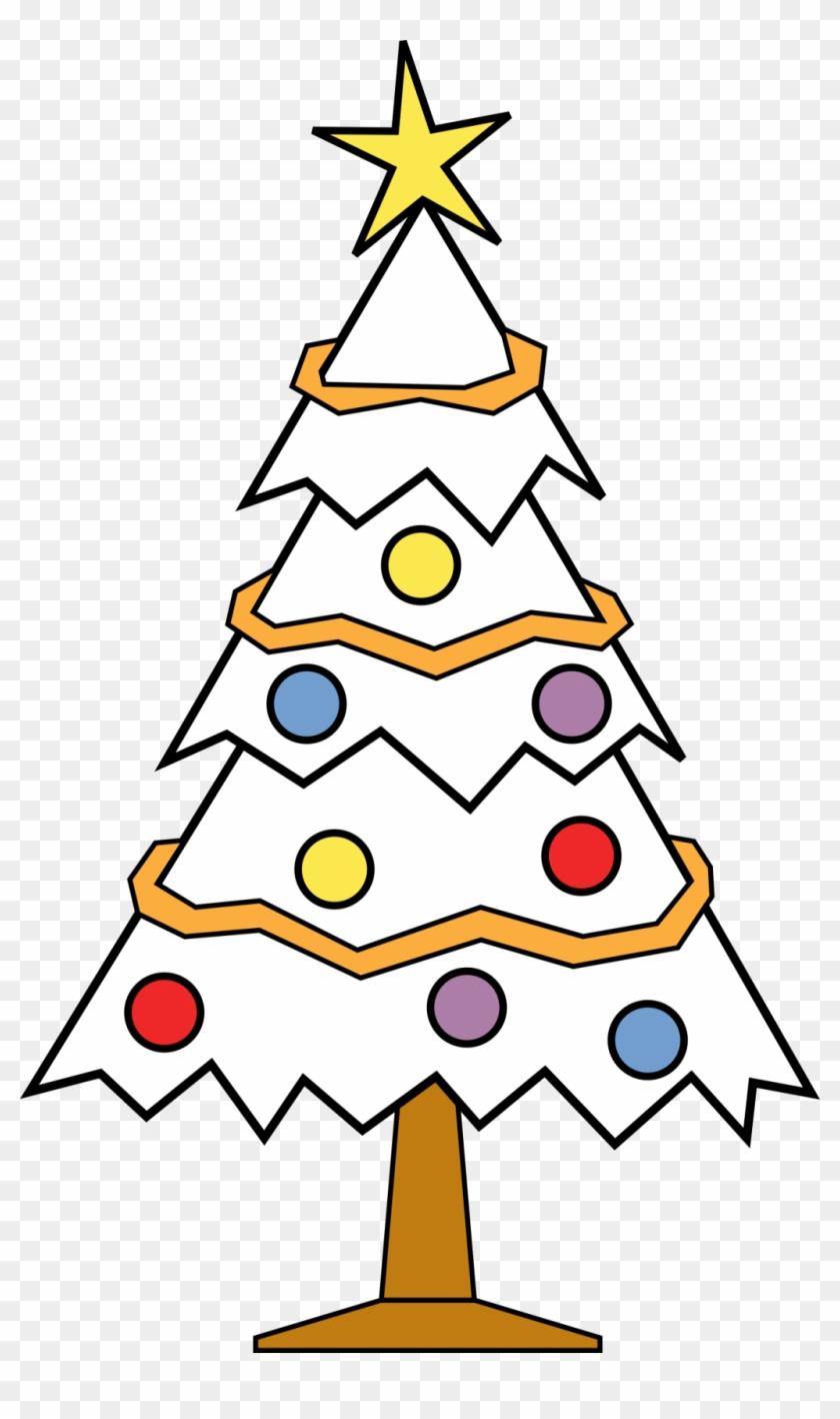 Christmas Tree Clip Art - Christmas Tree Ki Drawing - Png Download@pikpng.com