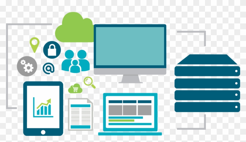 Tracking Platform - E Commerce Platform Icon Clipart #3504501