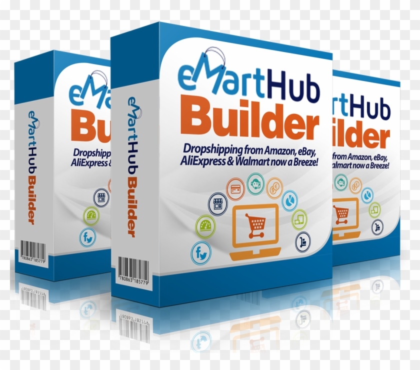 Emart Hub Builder - E Commerce Clipart #3509531