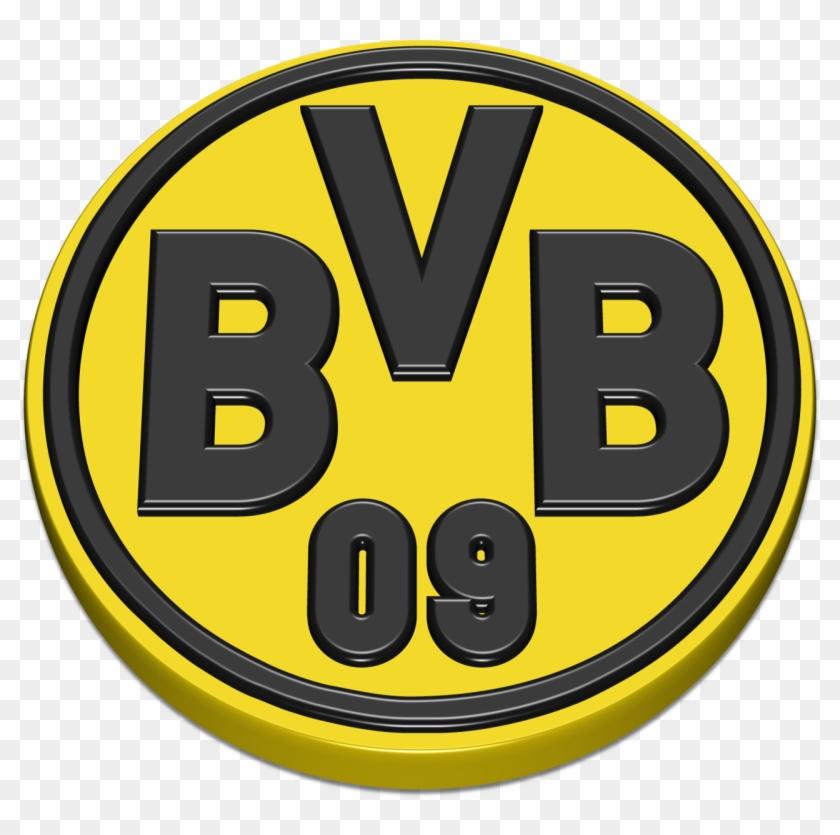 Borussia Dortmund Logo 3d 171 Logos Of Brands Borussia Dortmund Logo 3d Clipart 3513300 Pikpng