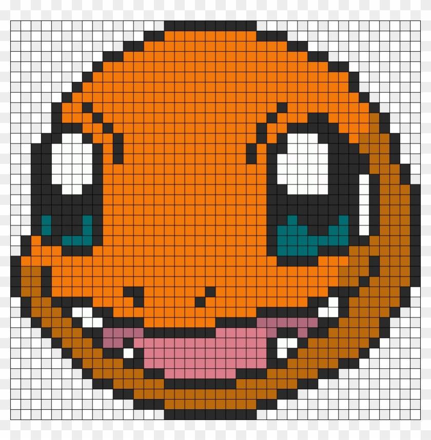 Pokemon Battle Trozei Charmander Perler Bead Pattern