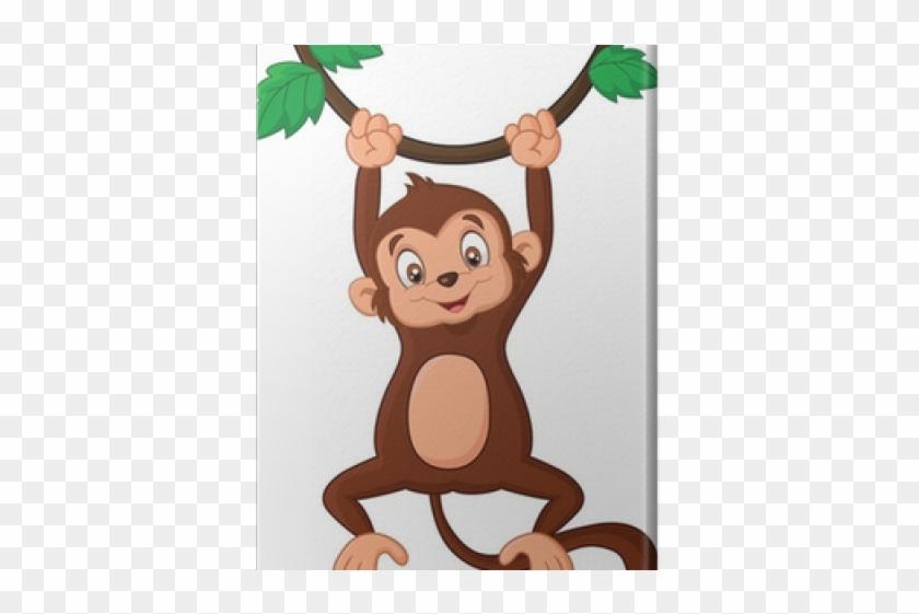 Vector Art - Monkeys on tree, vector. Clipart Drawing gg62179762 - GoGraph