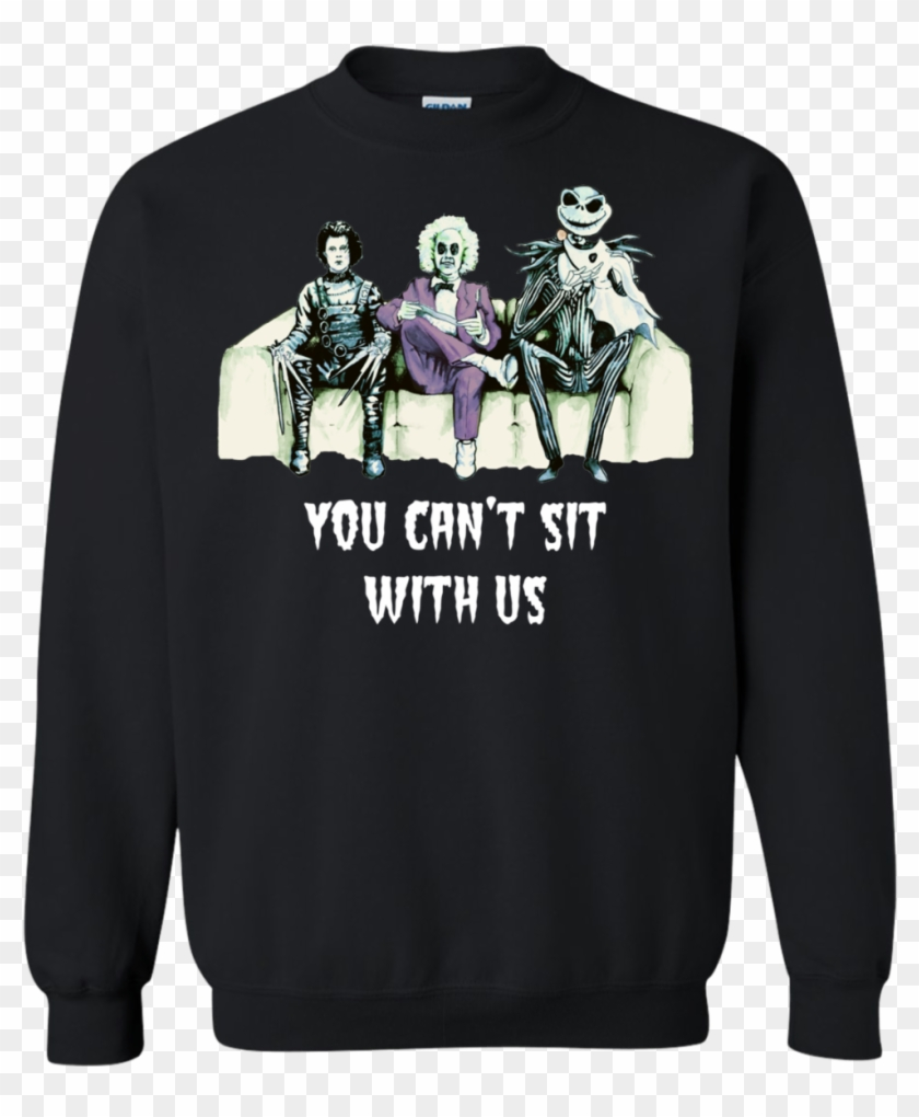 Beetlejuice - Edward - Jack - You Can't Sit With Us - You Can T Sit With Us Beetlejuice Clipart #3523389