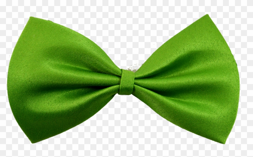 Lime Green Dog Bow Tie - Green Bow Tie Png Clipart #3524074