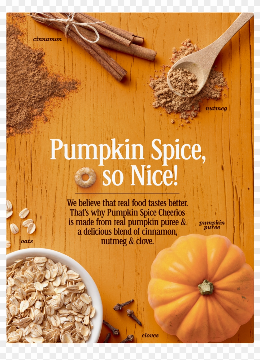 Pumpkin Spice Cheerios, Gluten Free, Cereal With Oats ...