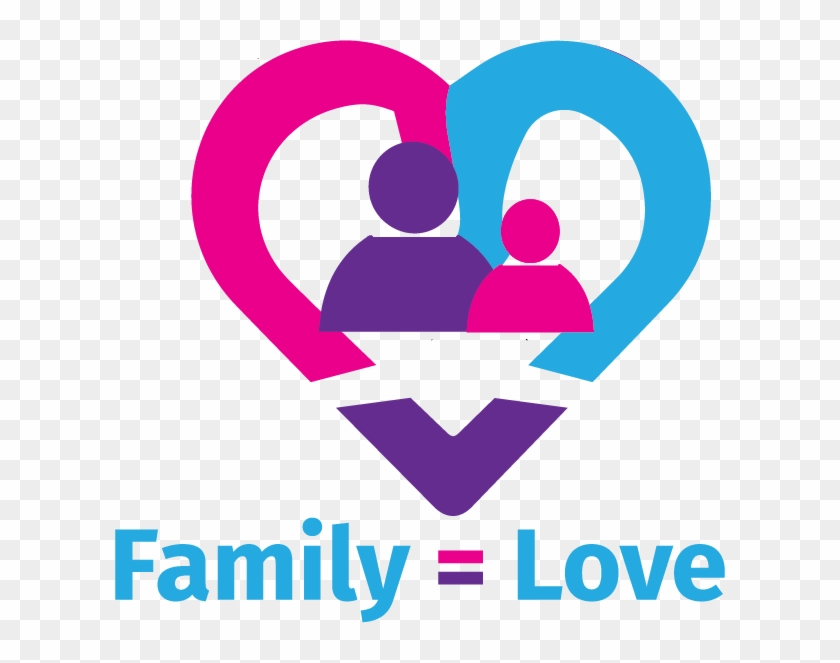T-shirt Design For Family = Love - Heart Clipart #3529255