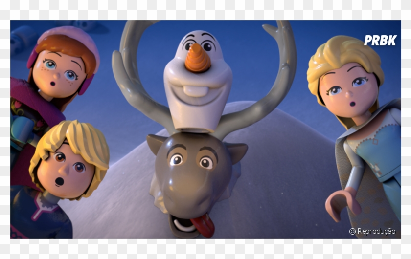 De Quot Frozen Quot Anna Elsa Olaf E Sven Lego Frozen