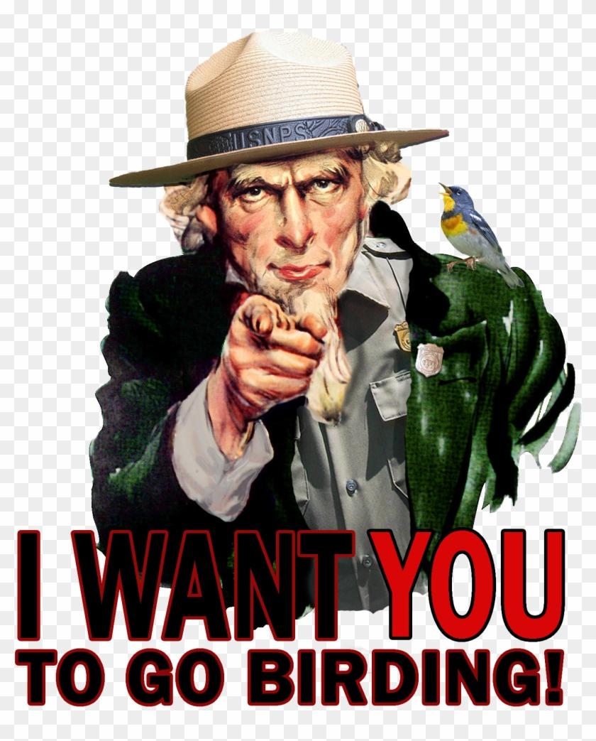Breeding Landbird Volunteer Opportunities - Uncle Sam Clipart #3534879