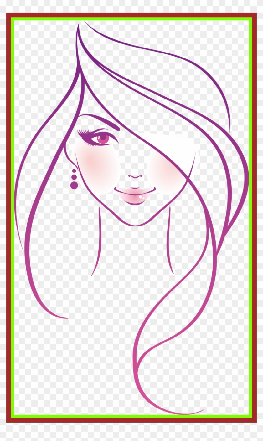 Barbie Drawing Barbie Head Drawing Fascinating Orig Easy Draw Woman Clipart 3537828 Pikpng