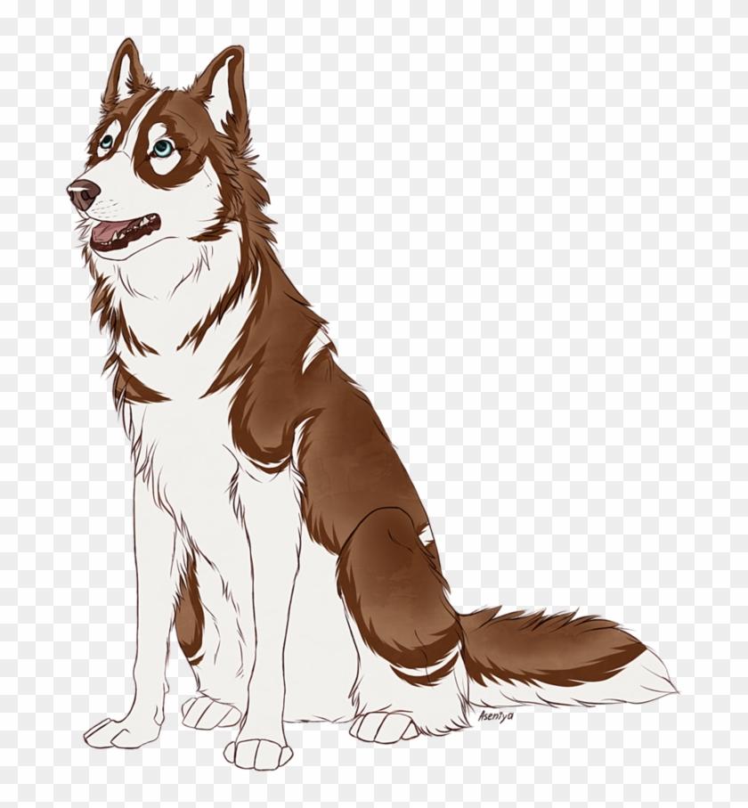 Medium Watercolor Acrylic Siberian Husky Husky Cartoon Png Clipart 3544541 Pikpng