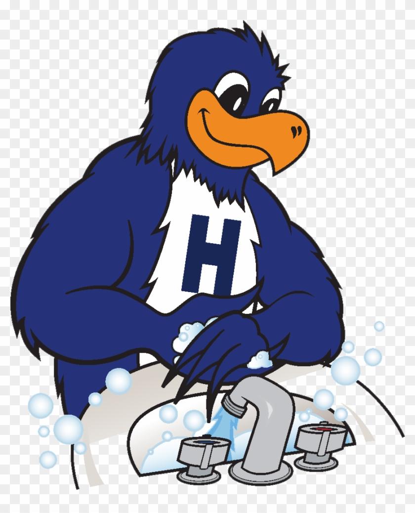 Herbie Washing Hands - Cartoon Clipart #3547798