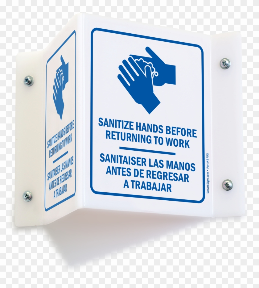 Hand Sanitizer Signs Png School Wash Your Hands Sign - Sign Clipart #3548172