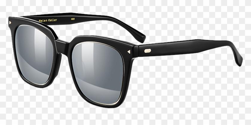 Helen Keller 2018 New Classic Square Sunglasses Male - Oakley Holbrook Prizm Polarized Matte Black Clipart #3548748
