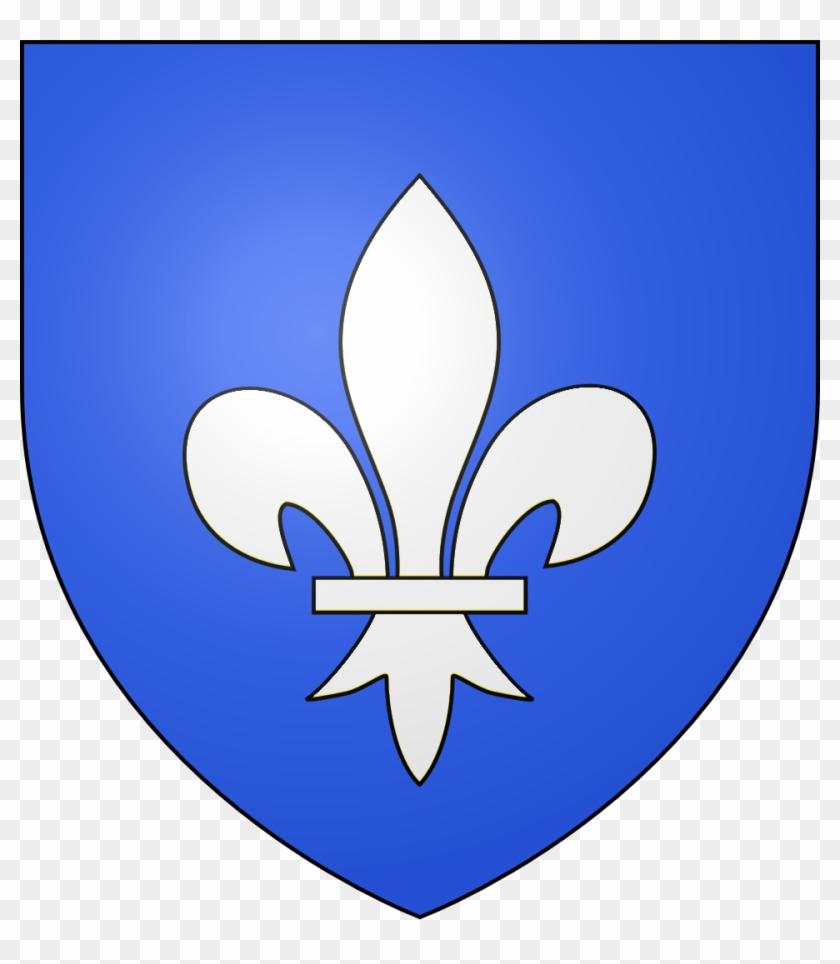 Blason Ville Fr Soissons - Blason Fleur De Lys Clipart #3557990