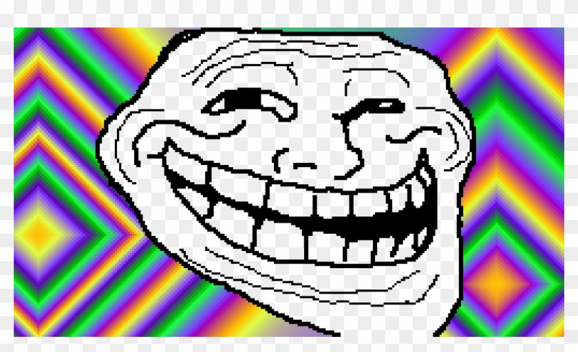Troll Face - Troll Face Png Clipart #3565416