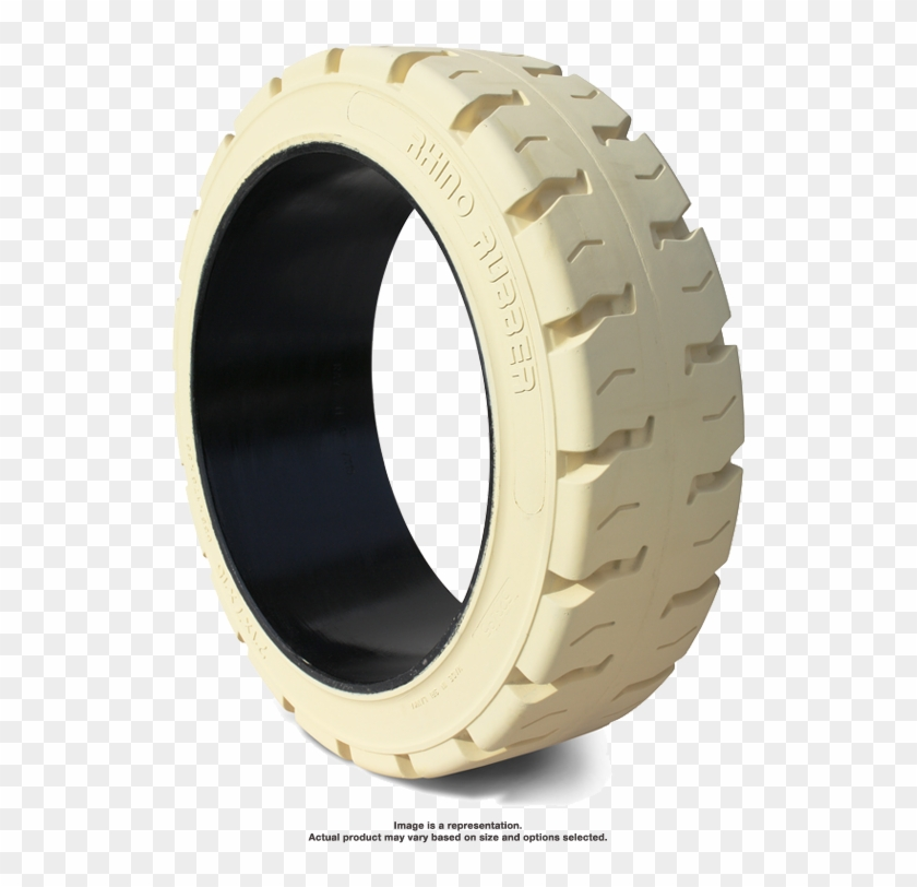 16 1/4x7x11 1/4 Traction Non Mark Rhino R1 Cushion - Forklift Solid Rubber Tyres Clipart #3575866