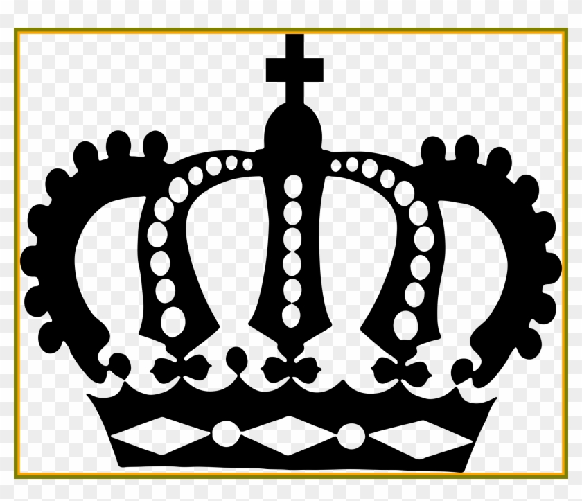 Fullsize Of Queen Crown Drawing - Royal Crown Silhouette Clipart #3576918