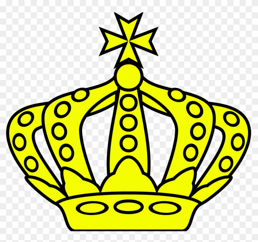 Maltese Crown - Crown Drawing For Coat Of Arms Clipart #3577062