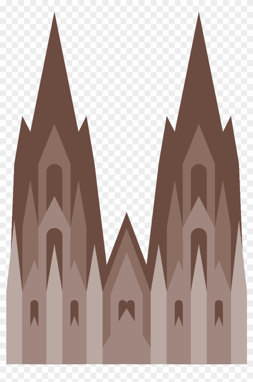 Cologne Cathedral Icon Emoji Kolner Dom Clipart 3583328 Pikpng