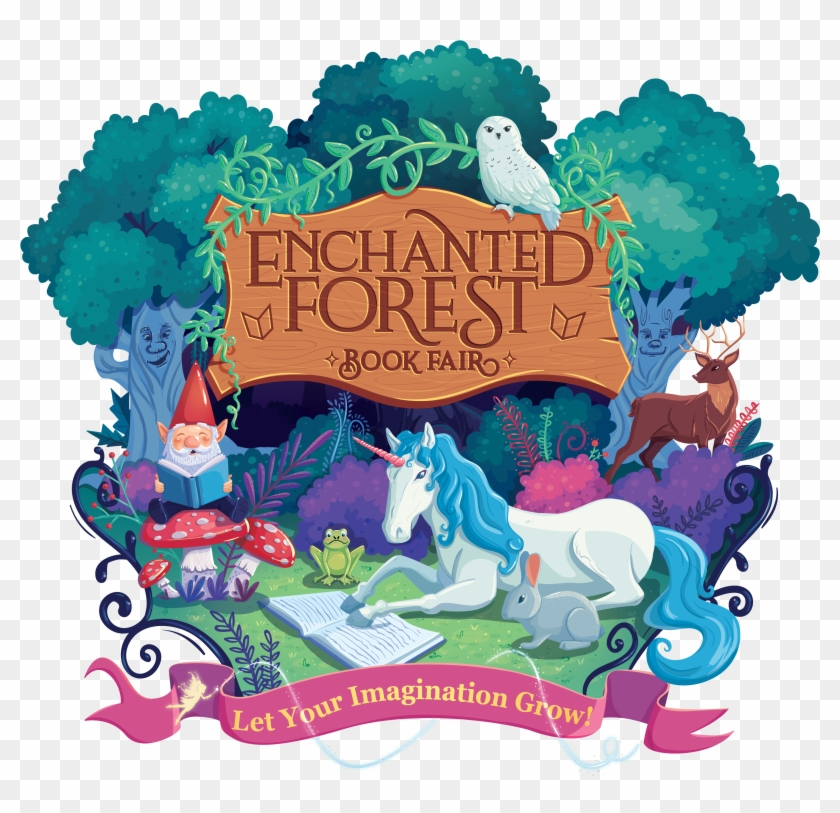 Categories Scholastic Book Fair Enchanted Forest Clipart
