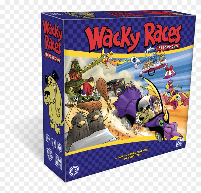 Consumer Products, Based On Warner Bros - Wacky Races Board Game Clipart #3583877