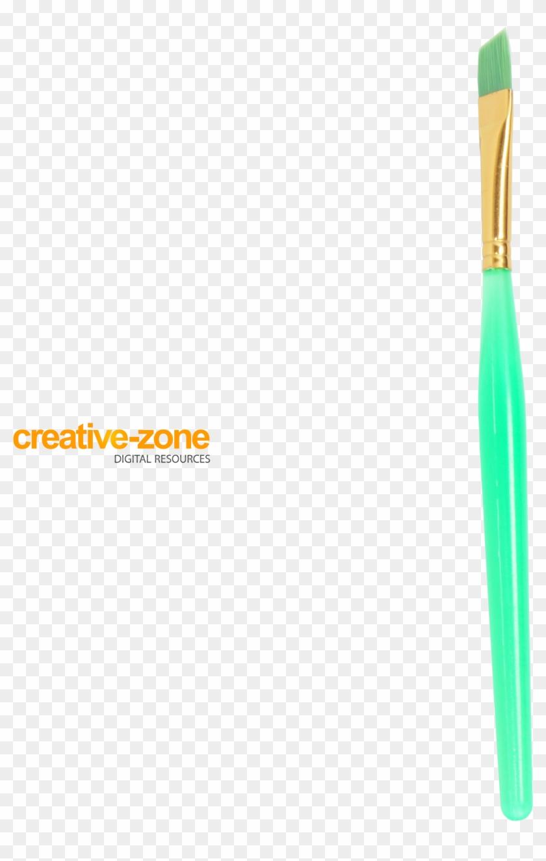 Brush, Paintbrush, Turquoise, Transparent - Paint Brush Clipart #3586415
