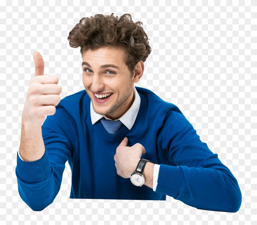 Thumbs Up Guy - Good Guy Vapes Clipart #3586805