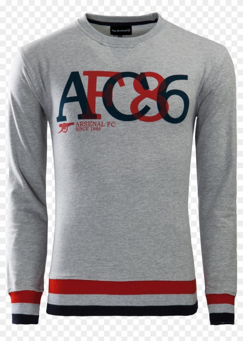 Arsenal Retro Shirt Long Sleeve - Long-sleeved T-shirt Clipart #3591426