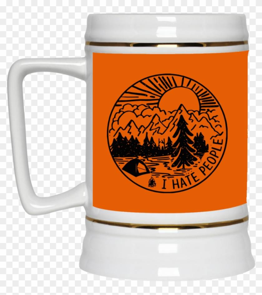 I Have People Beer Stain - Hate People Camping Svg Clipart #3599975