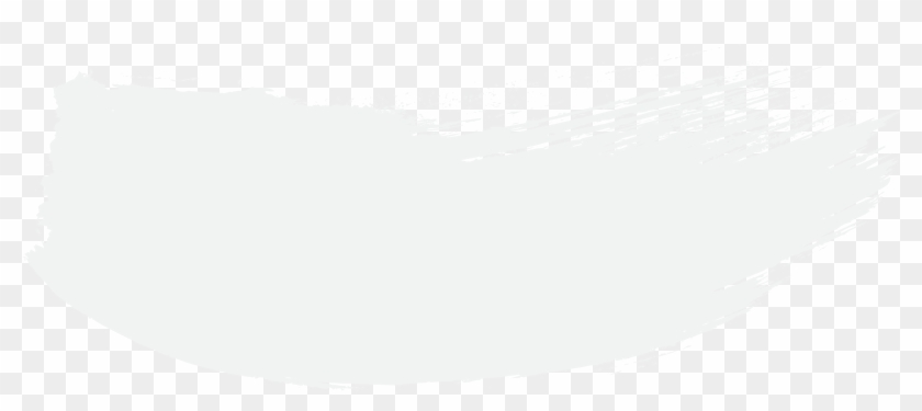 2899 X 1099 133 - White Brush Stroke Png Clipart #360704