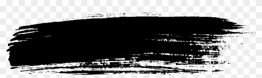 Black Brush Stroke Png Clipart #360806
