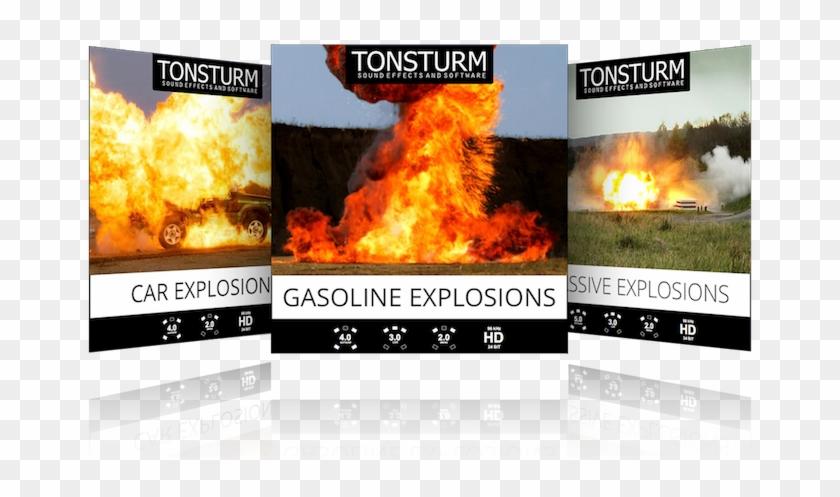 Explosion Bundle - Flame Clipart #362323