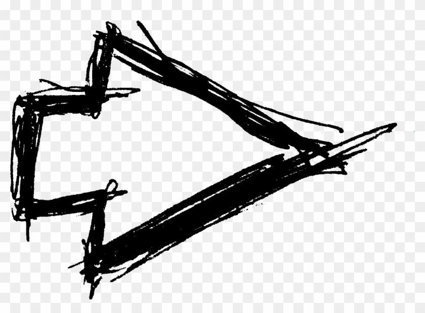 Free Download - Arrow Handwritten Png Clipart #362859