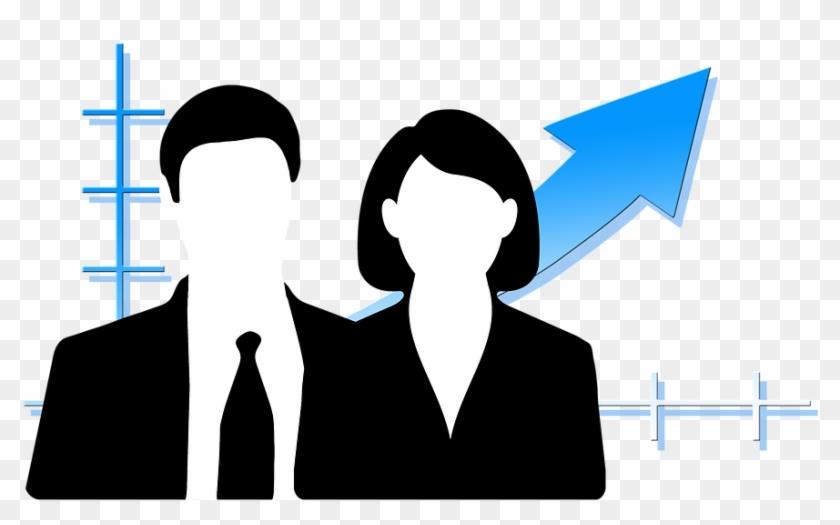 Personal Businessman Businesswoman Business Homme Et Femme D Affaire Clipart 366416 Pikpng