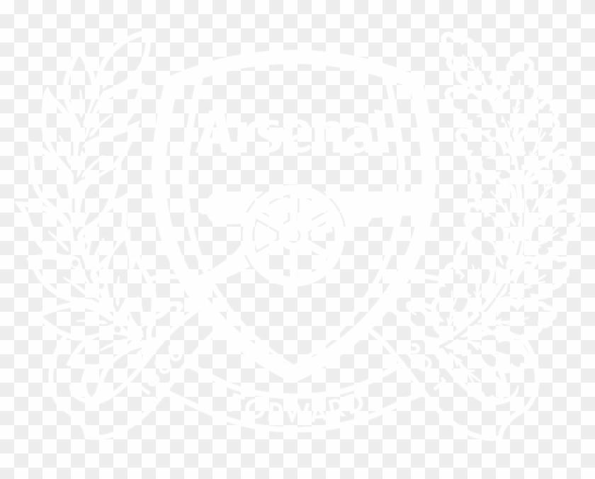 Aizo4576 Yes I Do Arsenal Logo Black And White Clipart 3600801