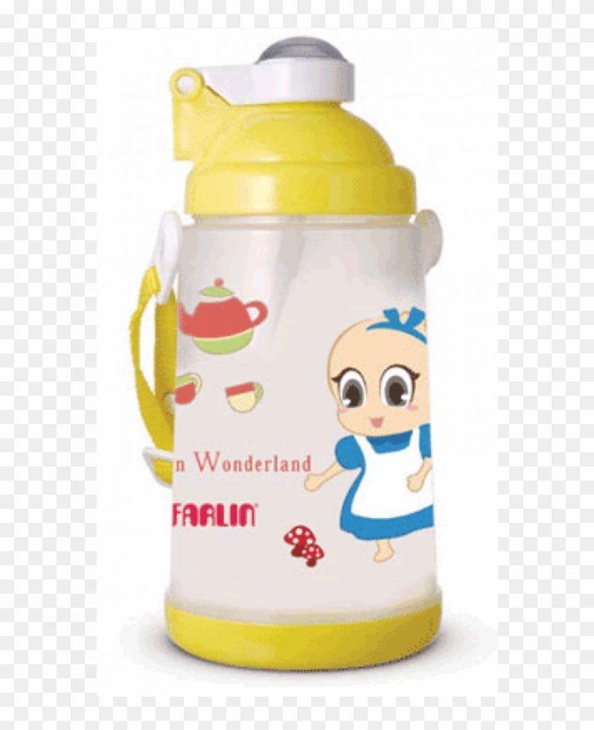 Farlin Water Bottle - Water Bottle Clipart #3602638