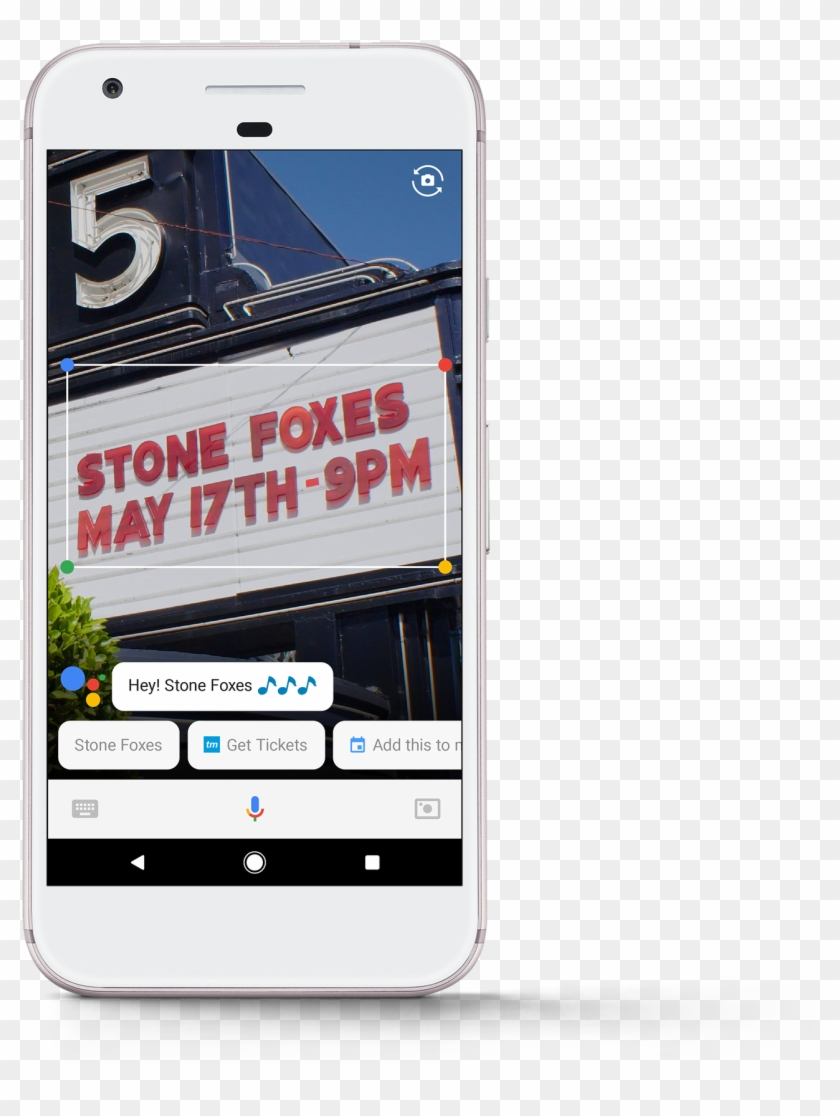 If You See A Marquee For Your Favorite Band, You Can - Google Lens Visual Search Clipart #3613058