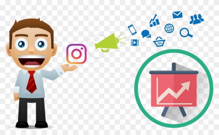 Instagram Marketing - Instagram Marketing Images Png Clipart #3613322
