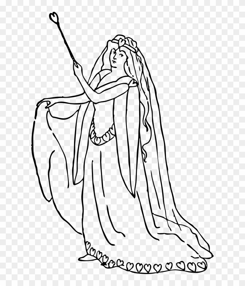Representing Love Gambar Sketsa Ibu Peri Clipart