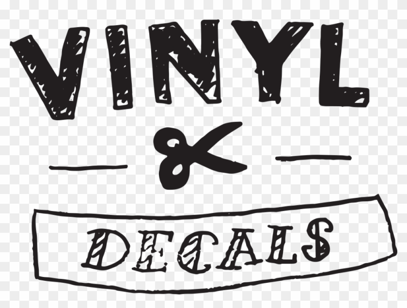 Vinyl Cut Decals Are Perfect For Simple, One Colour, - Decals Vinyl Clipart #3615518