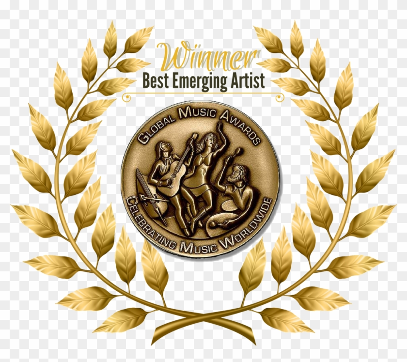Devin Is A Winner Of The Prestigious Hollywood Music - Global Music Awards Bronze Medal Clipart #3621867