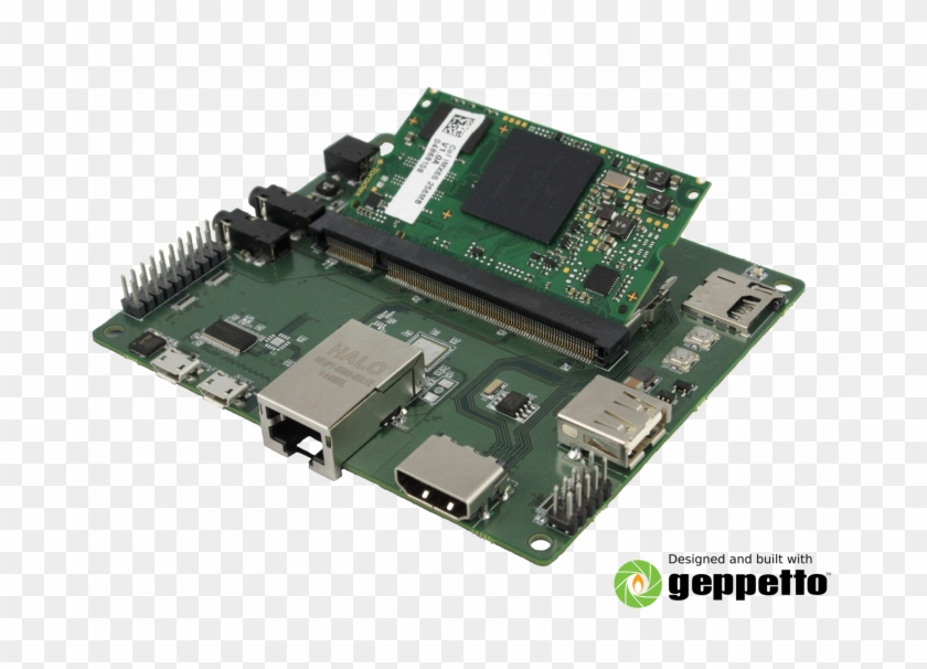 Overview - Raspberry Pi Compute Module Baseboard Clipart #3622794