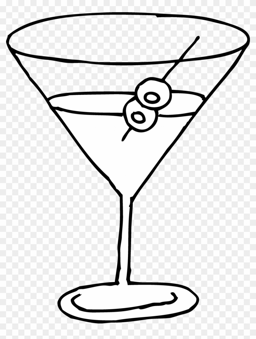 Margarita Glass Coloring Pages 4 By Jeremiah - Wine Glasses Coloring Pages Clipart #3625763