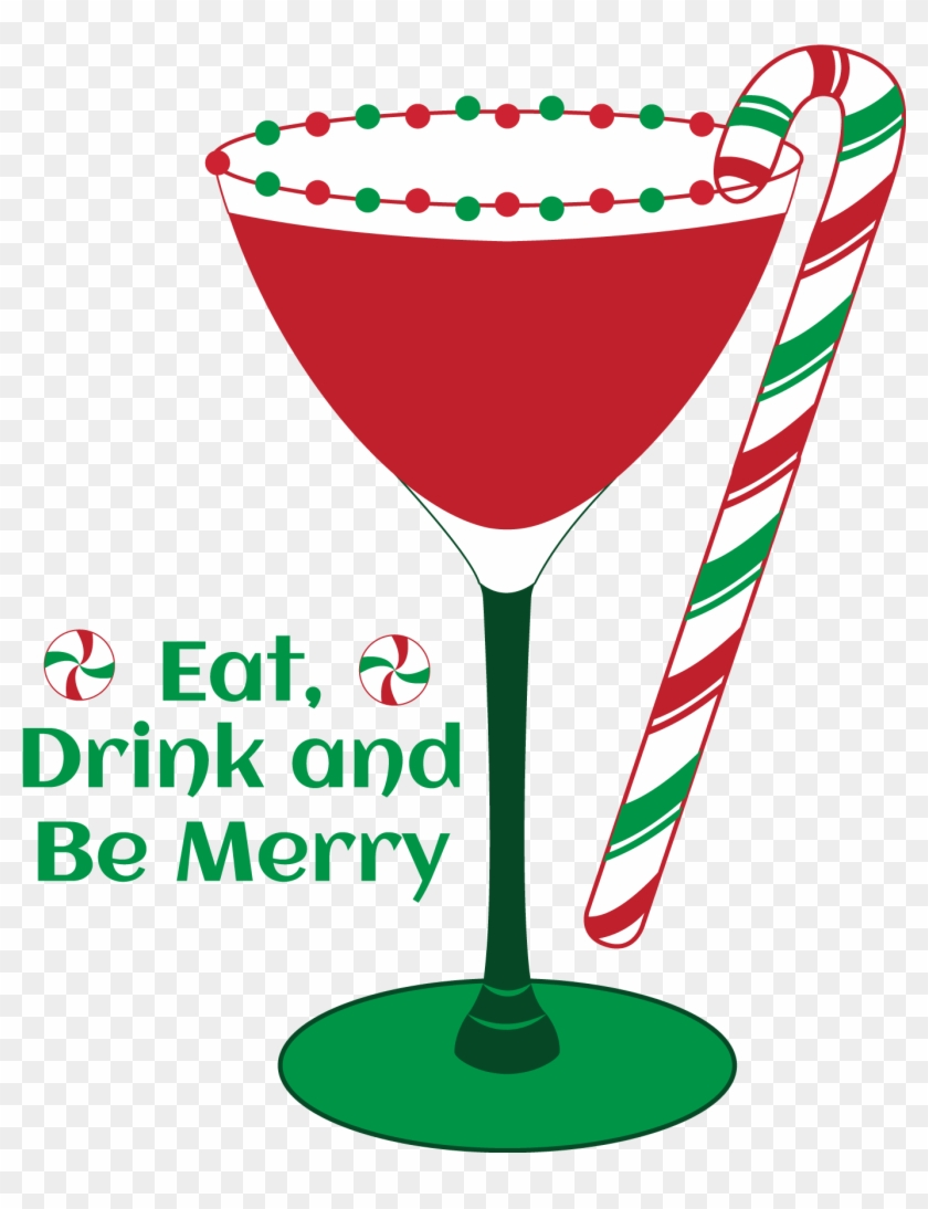 Martini Clip Art Festival Collections - Christmas Clip Art Cocktails - Png Download #3626112