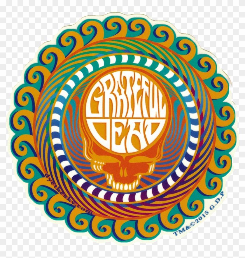 Grateful Dead Orange Sunshine Stealie - Queen Vinyl Label Jazz Clipart #3628996