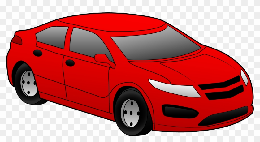 Speeding Car Clipart Free - Hot Hatch - Png Download #3629978
